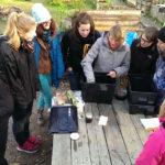 Wilma in der Wurmkiste: Workshop im Gartenbahnhof 3